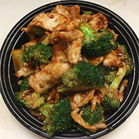 Chicken with Broccoli